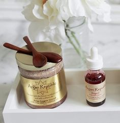 rose duo gift set - rose sugar scrub & regal rose otto elixir