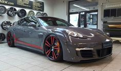 Porsche Panamera Turbo with GT3 RS Kit by Folienwerk