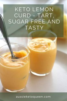 Diet Snacks Easy Keto Lemon Curd is the perfect Keto Dessert companion, and a great way to use up left over egg yolks or lemons on the Keto diet! Keto Desserts, Keto Snacks, Diabetic Snacks, Snack Recipes, Breakfast Recipes, No Carb Recipes, Keto Foods, Dessert Recipes, Cooking Recipes