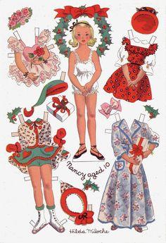 Hilda Miloche paper dolls                                                                                                                                                                                 Más                                                                                                                                                                                 Más