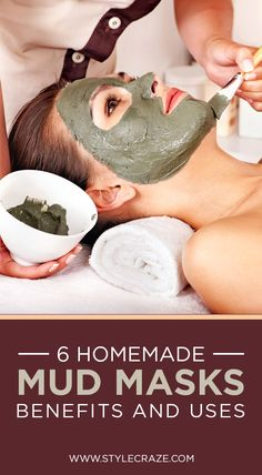 6 Simple Homemade Mud #Masks – Benefits And Uses