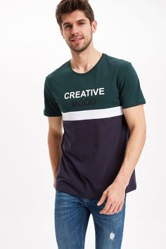 Casual Wear For Men, Tee Design, Kids Wear, Graphic Tees, Mens Fashion, Mens Tops, T Shirt, How To Wear, Fancy