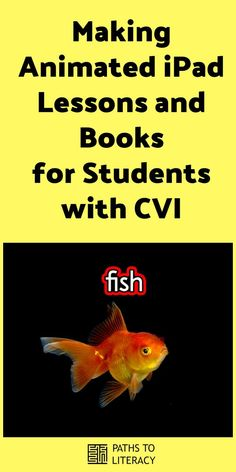 Learn how to make your own animated iPad lessons and books for students with CVI (cortical visual impairment) using Keynote. Student Teaching, Teaching Tools, Classroom Activities, Learning Activities, Visually Impaired Activities, Visual Impairment, Technology Lessons, Preschool Special Education, How To Make Animations