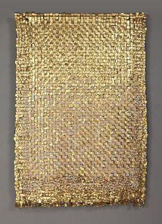 The work of Colombian textile artist Olga de Amaral.