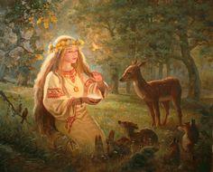 Жива - художник Андрей Шишкин