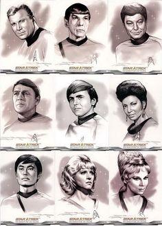 Original cast portraits