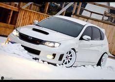 Subaru Impreza WRX STi...Beautiful Snow White!http://www.cupeezforcars.com/