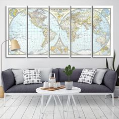 45 best world map canvas images on pinterest world map canvas 27105 large wall art world map canvas print watercolor world map travel canvas print gumiabroncs Choice Image