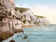 Shop White Cliffs of Dover, Kent England Archival Print created by OldeWorldGifts. Personalise it with photos & text or purchase as is! Kent England, England And Scotland, Dover England, Places To See, Places Ive Been, Dover Kent, The Scorpio Races, White Cliffs Of Dover, Dover White