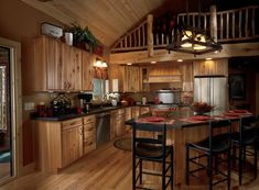 Get this look at Castle Rock Countertops. Our Rustic Plank door style from Woodland Cabinetry. www.castlerockcountertops.net
