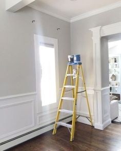 Wall Color is Repose Gray from Sherwin Williams.