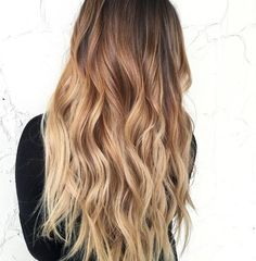 60 Best Ombre Hair Color Ideas for Blond, Brown, Red and Black Hair Long Brown To Blonde Ombre Best Ombre Hair, Brown Ombre Hair, Brown Hair Balayage, Ombre Hair Color, Hair Color Balayage, Brown Hair Colors, Blonde Balayage, Hair Colour, Short Balayage