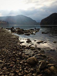 Alpsee lake. Fussen, Germany