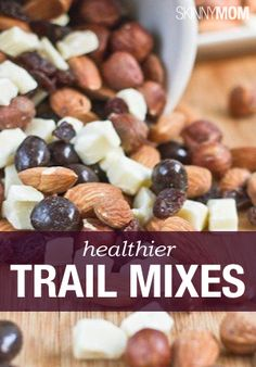 Try some of these yummy trail mixes!