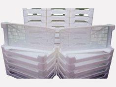 white drying trays