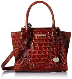 Brahmin Mini Priscilla *** Check out this great product. (This is an affiliate link) Zip Wallet, Zip Around Wallet, Leather Handle, Pu Leather, Vera Bradley Tote, Nylon Bag, Wallets For Women, Women's Accessories, Purses And Bags