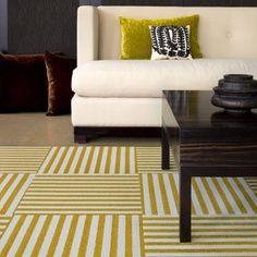 Marrones y verdes #Salones  #Living_room