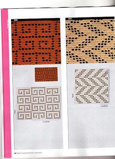 filet crochet | interesting idea for panel curtains.