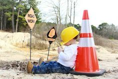 construction themed photo shoot - Google Search