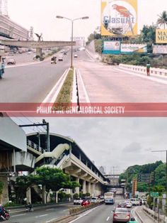 Dito, Noon: EDSA southbound approaching Guadalupe, Makati, 1980 x 2019. #kasaysayan Makati City, Present Day, Philippines, Memories, History, Memoirs, Souvenirs, Historia, Remember This