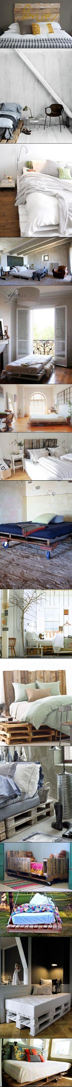 Home Decor Ideas - TOP 15 PALLET BED HACKS