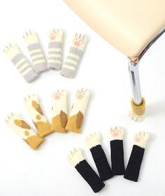 cat socks that protect your floors! https://otakumode.com/shop/54ab80946a8e0e8536748c34/Nekoashi-Chair-Socks-Pre-order