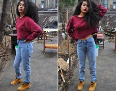 A look for timberland boots Outfits Otoño, Dope Outfits, Casual Outfits, Timbs Outfits, Casual Clothes, Fashion Outfits, Outfit Timberland, Timberlands, Timberland Fashion