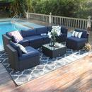 Outdoor Wicker Furniture, Patio Furniture Sets, Wicker Table, Garden Furniture, Fresco, Garden Sofa Set, Outdoor Sectional, Sectional Sofa, Patio Design