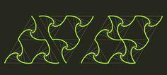 pólvora em bits: Padrões geométricos com splines - 2