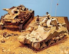 Military Figures, Military Diorama, Model Tanks, Military Modelling, S Mo, British Army, Model Building, North Africa, Scale Models