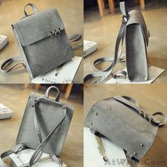 Cheap Fashion Metal Circular Rings Dual-use Shoulder Bag Backpack Retro Square Frosted PU Flap Backpack For Big Sale!Fashion Metal Circular Rings Dual-use Shoulder Bag Backpack Retro Square Frosted PU Flap Backpack Lace Backpack, Retro Backpack, Floral Backpack, Backpack Pattern, Backpack Bags, Leather Backpack, Cute Backpacks, Girl Backpacks, College Backpacks