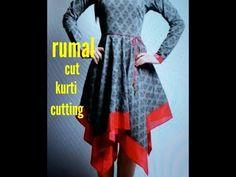 YouTube Sewing Hacks, Sewing Tips, Sewing Projects, Saree Kuchu Designs, Dress Cuts, Indian Dresses, News Design, Frocks, Kurti