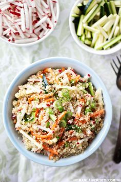 Quinoa & Veggies Lunchbox Power Salad