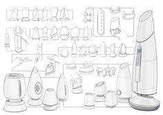 Development Sketches for Zephyr Coffee Vape Concept
