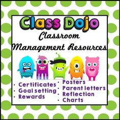 Class Dojo. Class Dojo Pack. Class Dojo Classroom Management. Behavior…