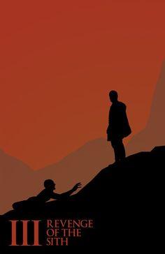 Minimalist #StarWars Poster - Revenge of The Sith