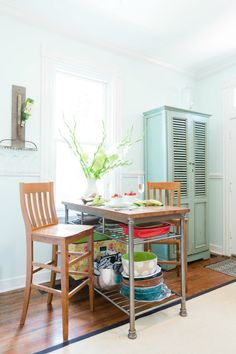 Kitchen Island / Table works for small spaces