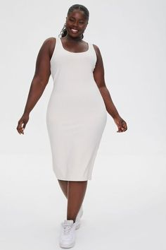 Add To Cart: The Best Summer Bottoms That Aren't Shorts | The Everygirl Midi Flare Skirt, Curves Clothing, Knit Skirt, Summer Essentials, Tank Dress, Plus Size Dresses, Fitness Models, Mini Skirts, Scoop Neck