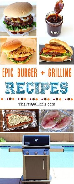 Best Grilling and BBQ Recipes from TheFrugalGirls.com - fire up the grill and get ready for an epic dinner... you'll LOVE these easy recipes for off-the-charts burgers, fish, chicken and sauces!