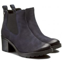 Polokozačky LASOCKI - 4381-01 Tmavomodrá Chelsea Boots, Ankle, Shoes, Fashion, Moda, Zapatos, Wall Plug, Shoes Outlet