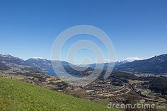 #Chicken #Mountain #View To #Lake #Millstatt in #Spring @dreamstime #dreamstime @carinzia #ktr15 #landscape #nature #austria #carinthia #season #mountains #bluesky #greengrass #stock #photo #portfolio #download #hires #royaltyfree