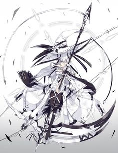 Anime picture with original nagishiro mito long hair single tall image looking at viewer breasts fringe simple background animal ears hair between eyes holding silver hair cleavage tail animal tail full body grey eyes fox ears two-tone hair Cool Anime Girl, Beautiful Anime Girl, Kawaii Anime Girl, Anime Art Girl, Manga Girl, Manga Anime, Fantasy Character Design, Character Design Inspiration, Character Art