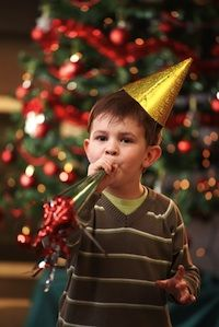 A list of ideas for New Years for kids