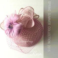 Heather Pink Pillbox Hat - Rosa - Womens Hats. ◅. ▻