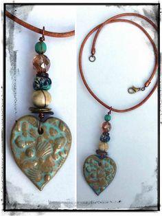 Handmade necklace by Esfera Jewelry