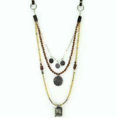 Three's A Charm necklace by Dekko #india