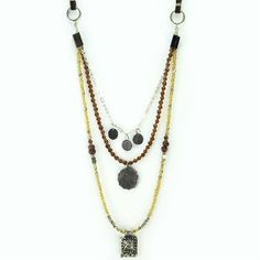 Three's A Charm necklace by Dekko #india