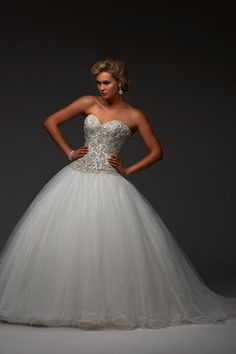 Wedding gown by Bonny Bridal