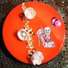 #entremet #abricot #entremetabricot #glacage #glacagemiroir #patisserie #dessert #homemade #homemadefood #homemadecooking #douceursucrees Panna Cotta, Dessert, Ethnic Recipes, Food, Gentleness, Dulce De Leche, Deserts, Essen, Postres