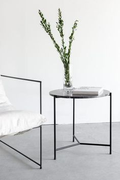 Nero Granada Side Table